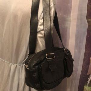 Rudsak shoulder small black leather bag
